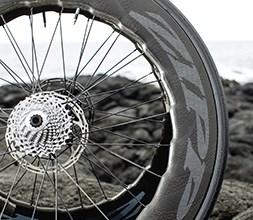 Zipp disc brake wheel with deep rims