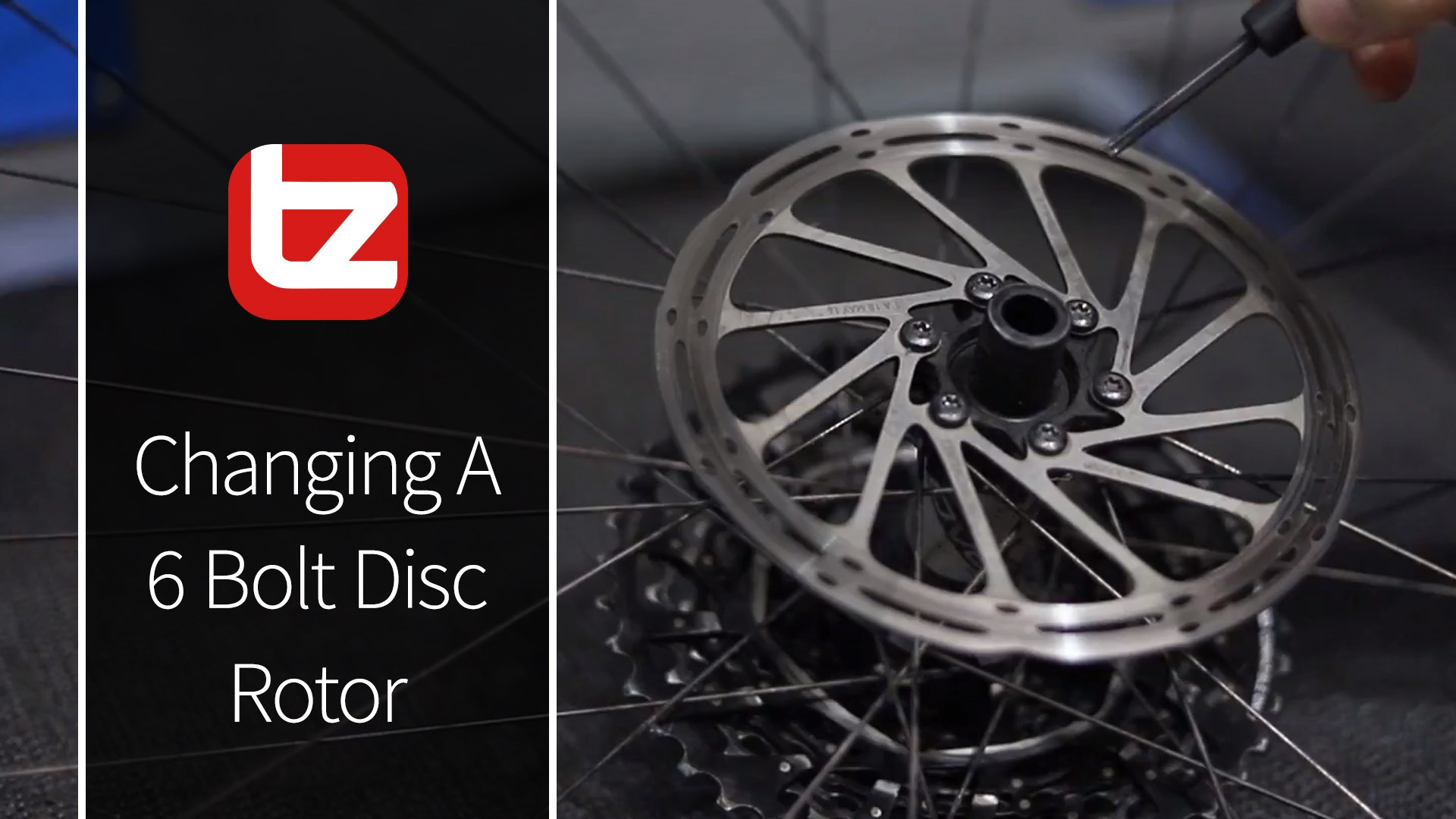 How To Change A 6 Bolt Disc Brake Rotor | Tech Tip | Tredz Bikes