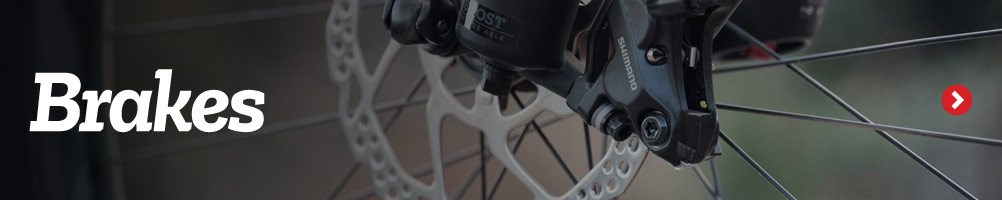 Shimano Hydraulic Disc Brakes - Check pads regularly and replace when necessary