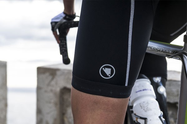 Endura bib-shorts with reflective details