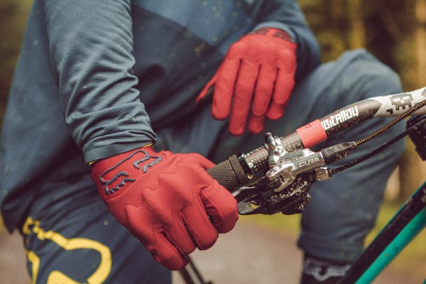 Fox Clothing's Attack gloves have D3O padding on the knuckles to protect from trailside obstacles