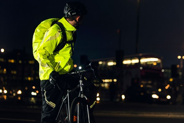 Altura's Night Vision trousers have various reflective details around the trousers to aid visibility.