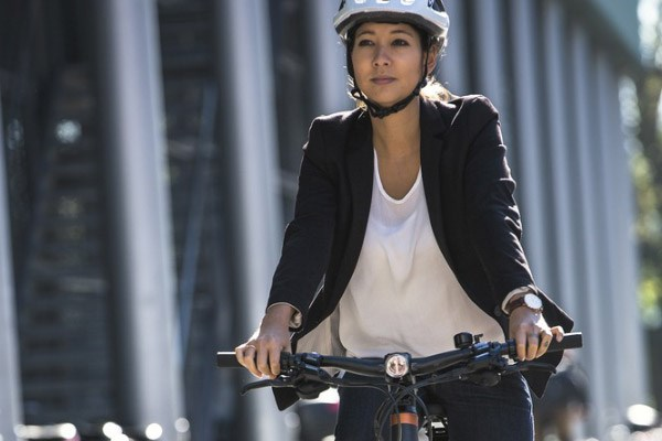 Cycling to work allows you to take quieter, less polluted routes