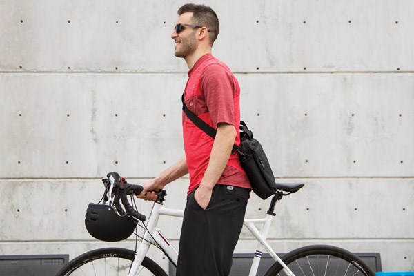 Cycling to work releases endorphins and can make you happier in the long term