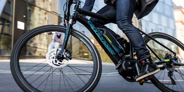 Cannondale e bike city rider
