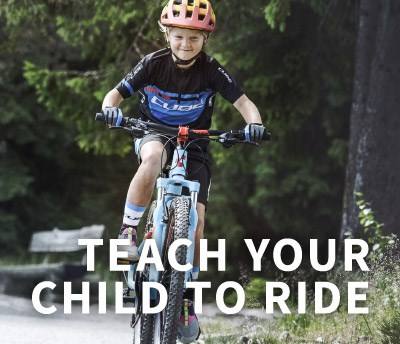Teach them to cycle