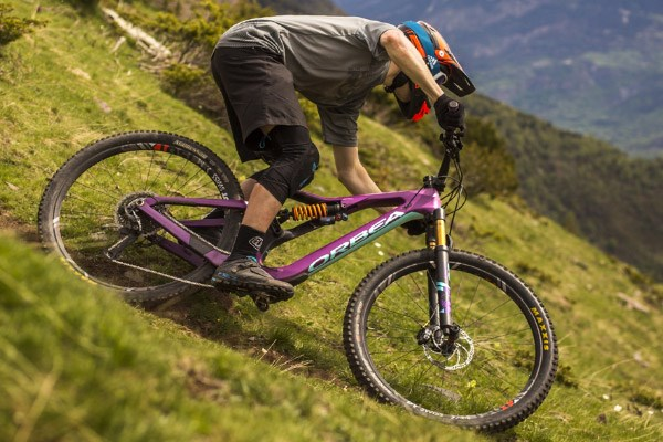 Enduro bikes are capable on rough terrain but this comes at a cost, the weight.