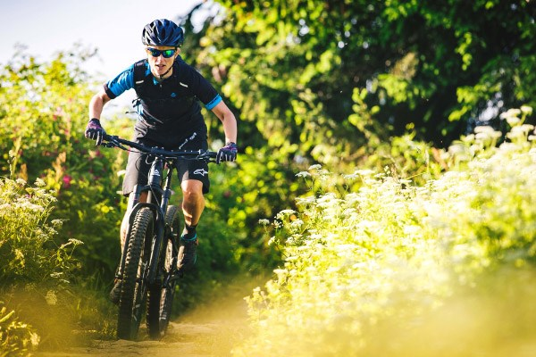 130mm travel MTBs can be more fun to ride on mellower trails than long-travel bikes
