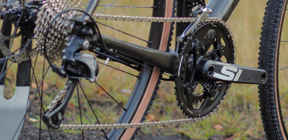 Cannondale CAADX groupset