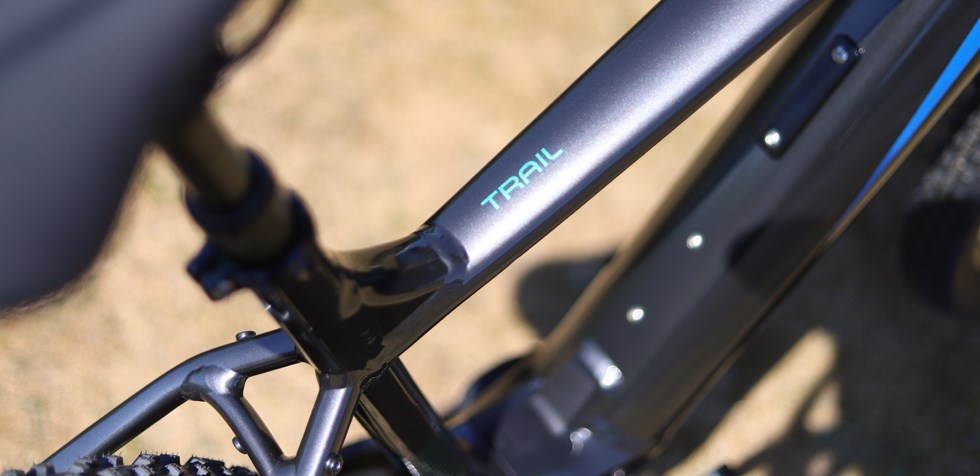 Cannondale Trail Neo 2 frame detail