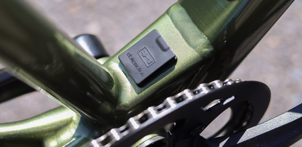 Cannondale Treadwell Neo charging point