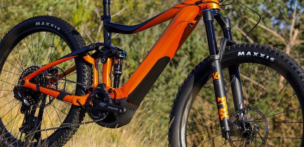 Giant Trance E Pro Fox Fork And Shock