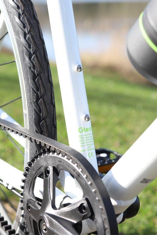 Gtech Sport electric bike belt drive