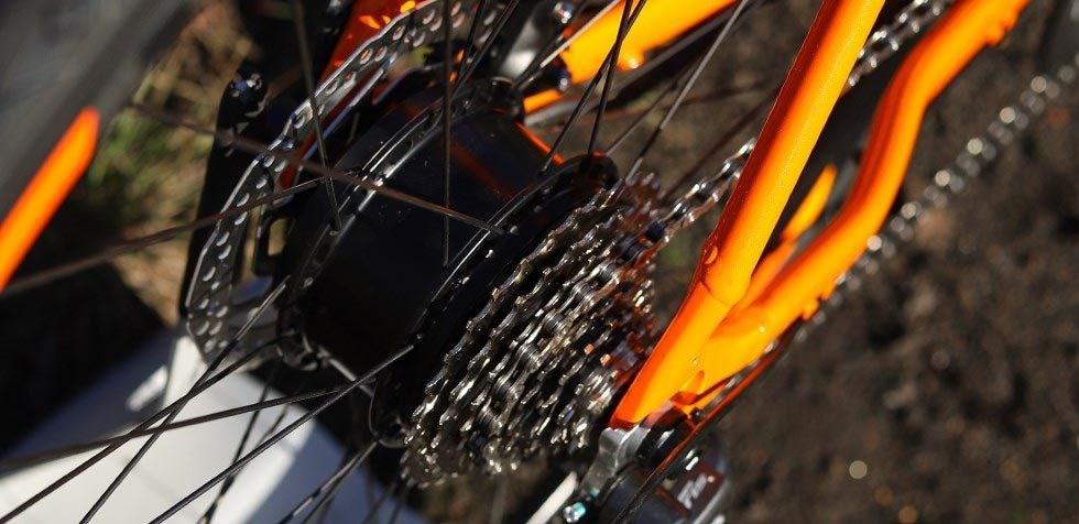 Ebikemotion X35 hub motor on Orbea Gain electrci road bike