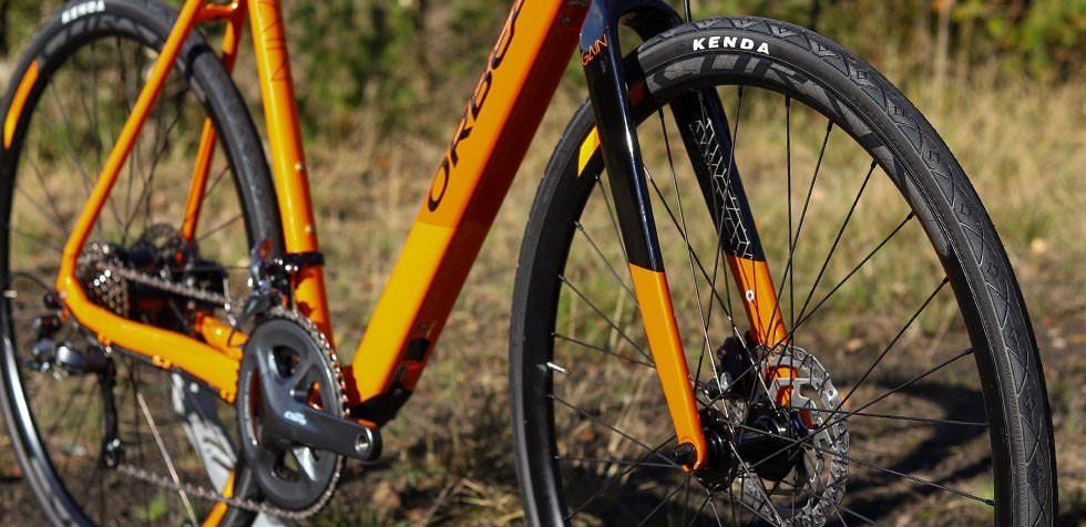 Orbea Gain fork and wheel