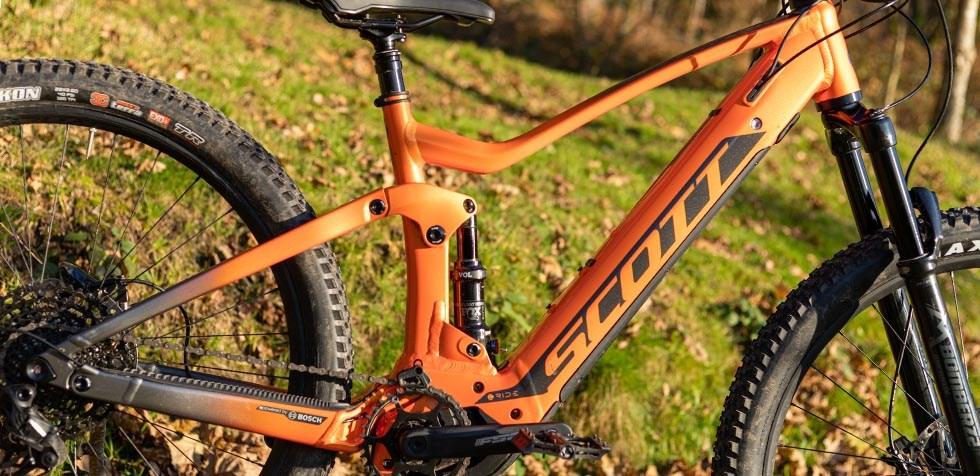 Scott Strike e Ride frame detail