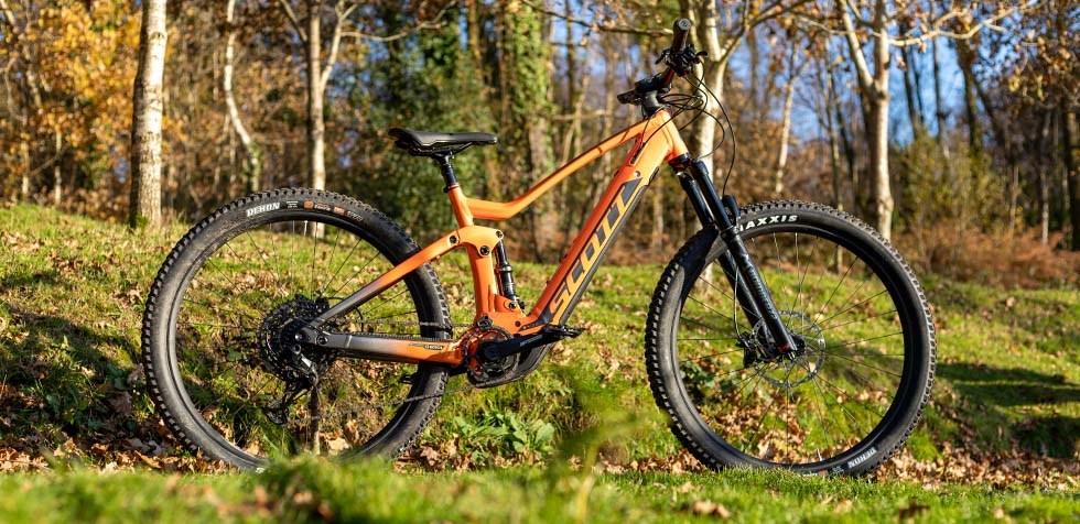 Scott Strike e Ride 920 in teh woods