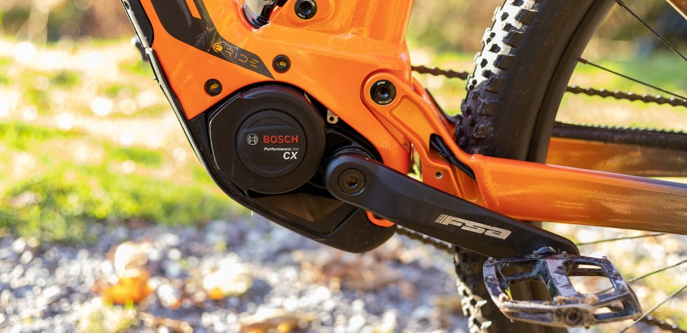 Scott Strike e Ride Bosch Performance CV gen 4 motor