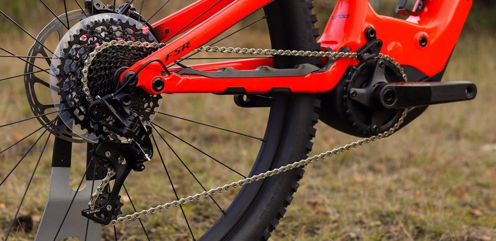 Specialized Turbo Levo Carbon Comp SRAM drivetrain