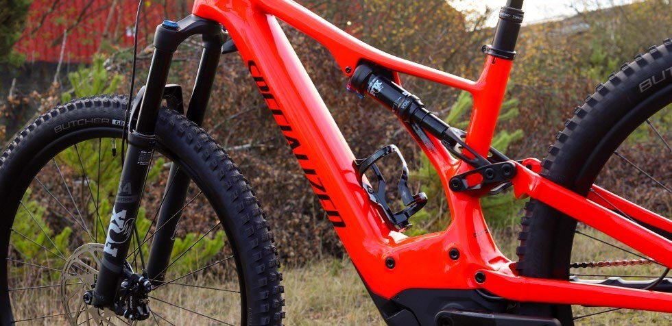 Specialized Turbo Levo Carbon Comp frame detail