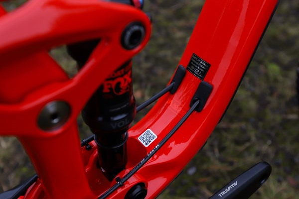 Giant Trance 29 Advanced Pro 2019 rocker and schock detail