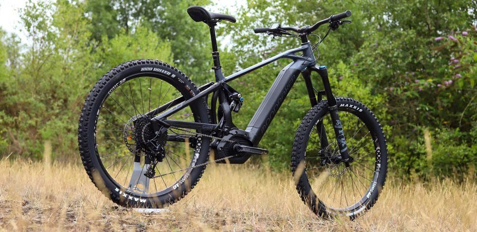 A overall view of the Mondraker Crafty E Bike