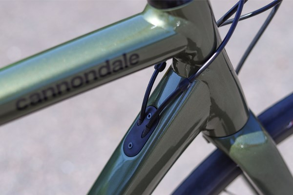 Cannondale CAAD13 headtube frame detail showing double pass welds