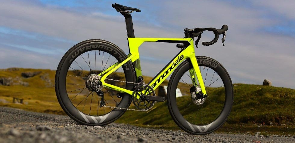 Cannondale SystemSix Dura Ace on the road