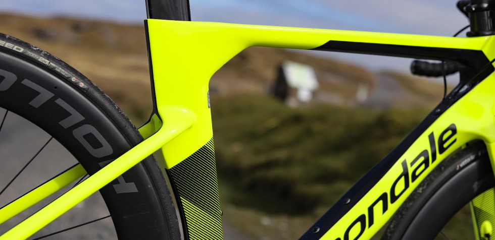 Cannondale SystemSix frame detail