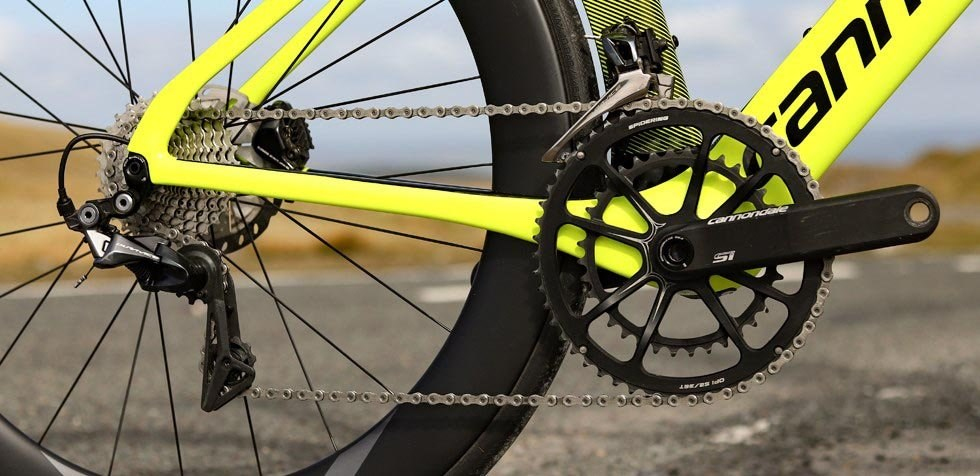 Cannondale SystemSix Dura Ace drivetrain