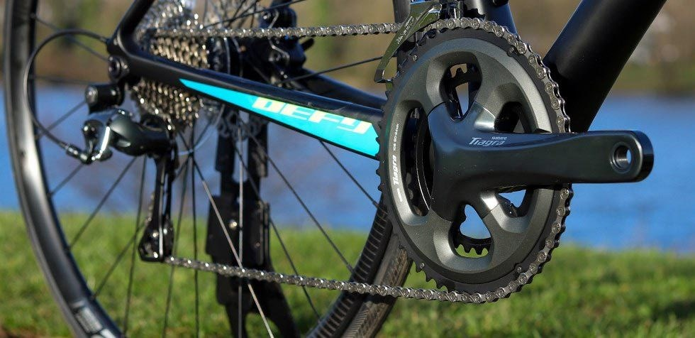 Giant Defy Advanced Shimano groupset