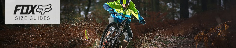 MTB'er attacking the trails in Fox clothing