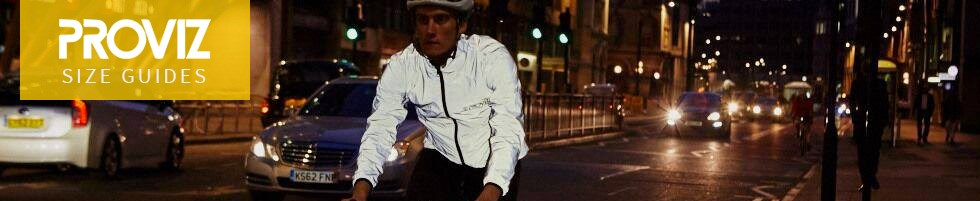 Cyclist wearing Proviz clothing