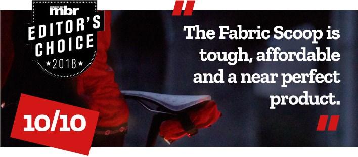 Fabric Scoop Saddle