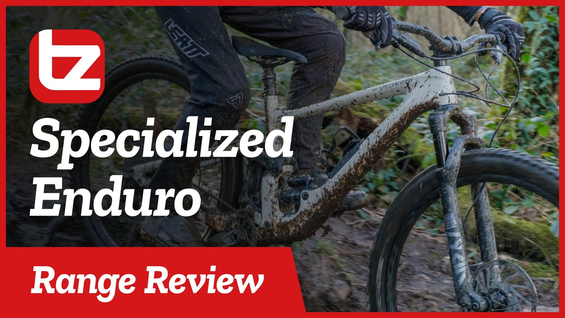 Specialized Enduro | Range Review | Tredz Bikes