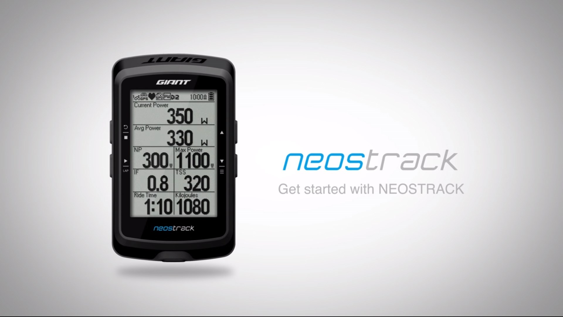 Information is Power: The All-New Giant NeosTrack GPS Computer