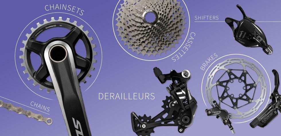 6dd8729b72c Mountain Bike Groupsets | Tredz Bikes