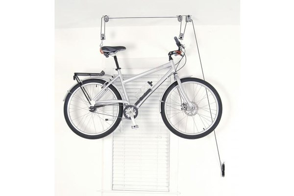 ceiling mounted bike rack