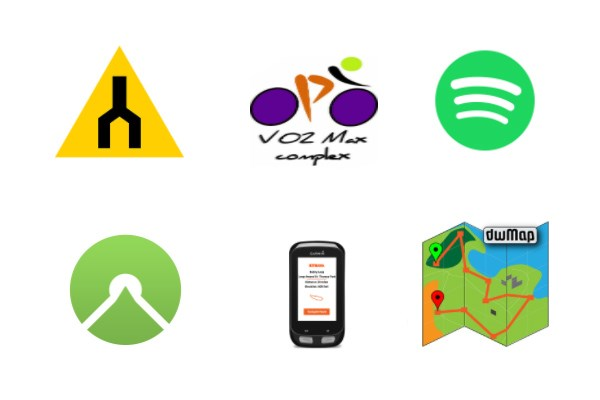 app icons for cycling