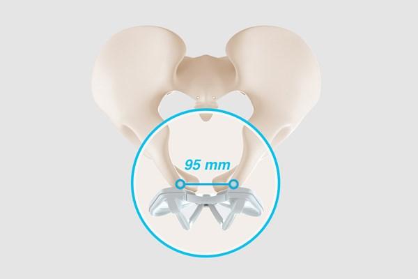 sit bone width