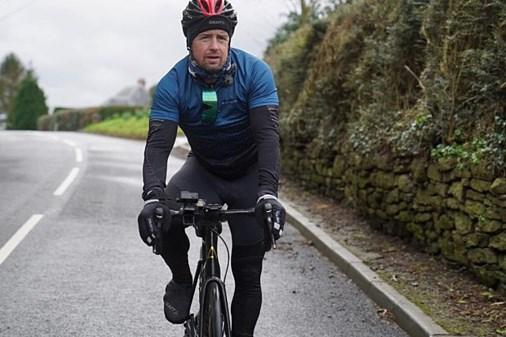 Shane Williams on the road bike