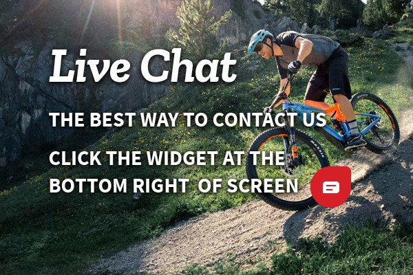 Live Chat - The best way to contact us is to use Live Chat by clicking the widget at the bottom right of your screen