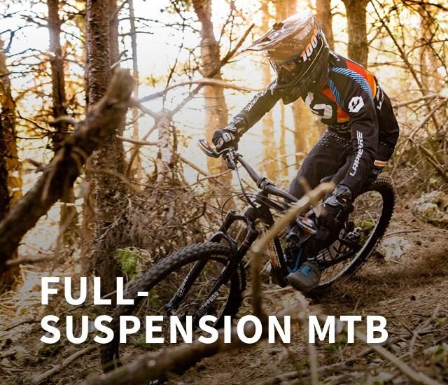 Lapierre Full-suspension Mountain Bikes