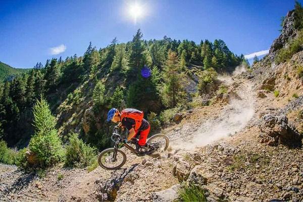Lapierre MTB on trail