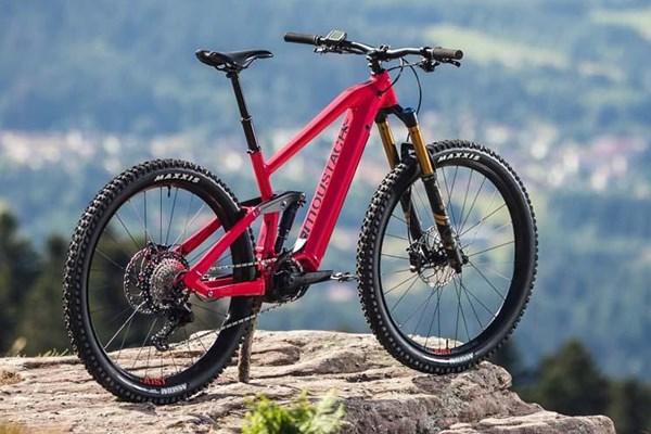Moustache electric mountain bike