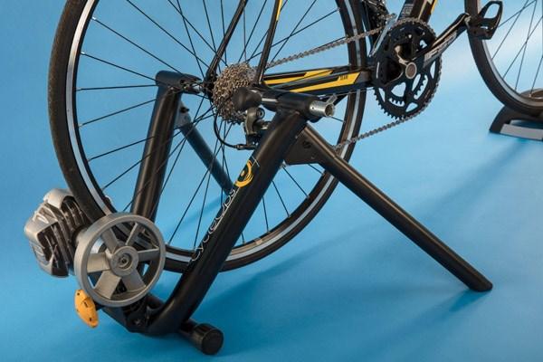 wheel on turbo trainer