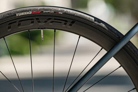 Road bike rear wheel