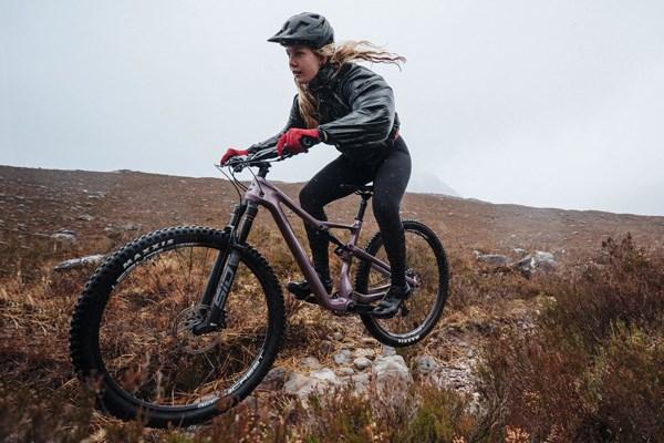 Winter MTB riding