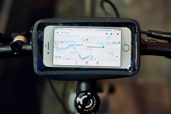 Smartphone directions for cycling