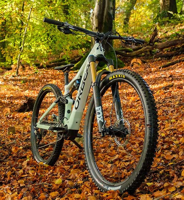 Orbea RIse with 150mm travel Fox 36 fork